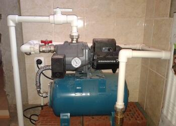 Насосная станция под ключ, водоснабжение в частном доме